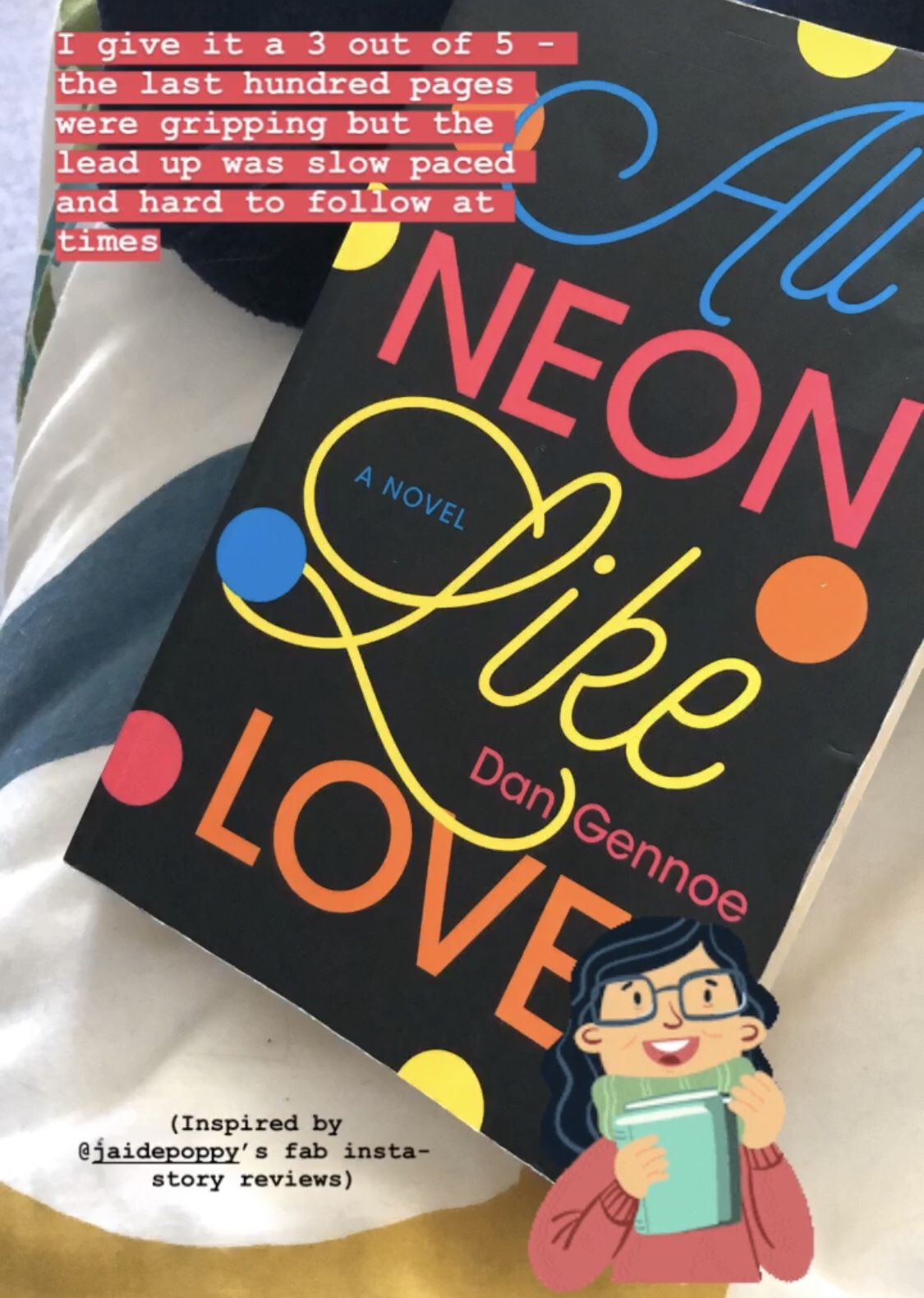 All Neon Like Love by Dan Gennoe